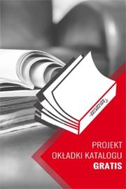 Projekt okładki katalogu gratis